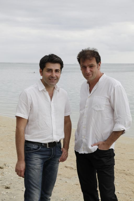 Pierre Pinaud et Thierry Binisti